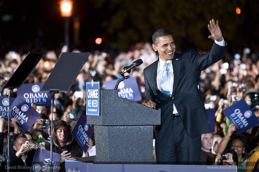 Barack Obama in Columbia, Missouri