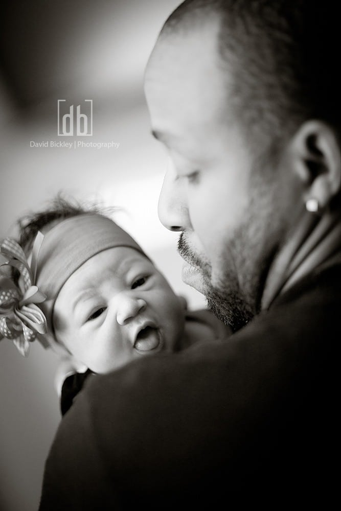 Father and Daughter by David Bickley Photography