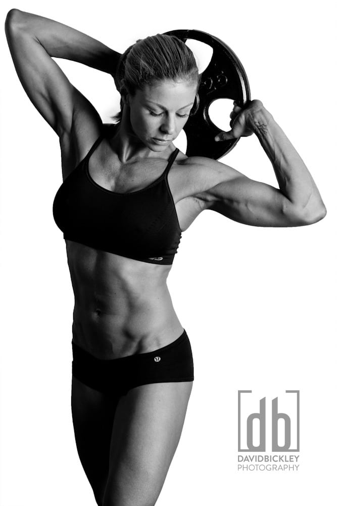 WBFF Pro Sharon Polsky for David Bickley Photography