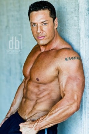 WBFF Pro Micah Lacerte by David Bickley Photography