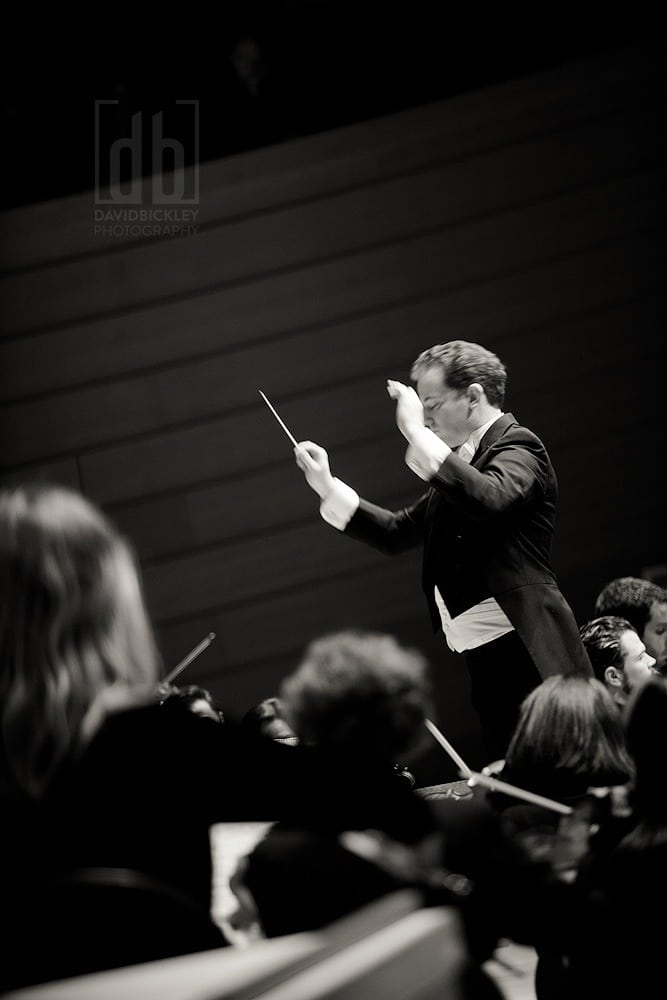"Steven Jarvi conducts the Kansas City Symphony's performance of Handel's ""Messiah,"" Photographed by David Bickley Photography"