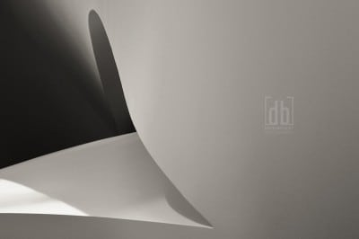 Abstract from the Kauffman Center for the Performing Arts by David Bickley Photography