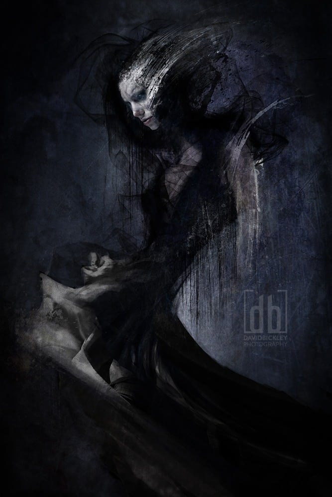 The Black Bride by David Bickley Photography