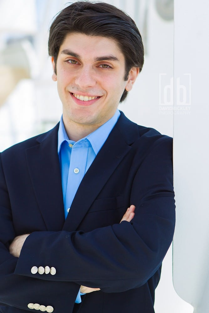 Aram Demirjian, Assistant Conductor Designate by David Bickley Photography