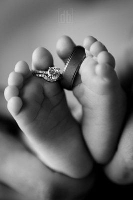 Baby Feet by David Bickley Photography