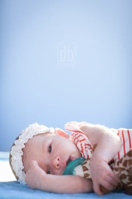 Baby photo by David Bickley Photography