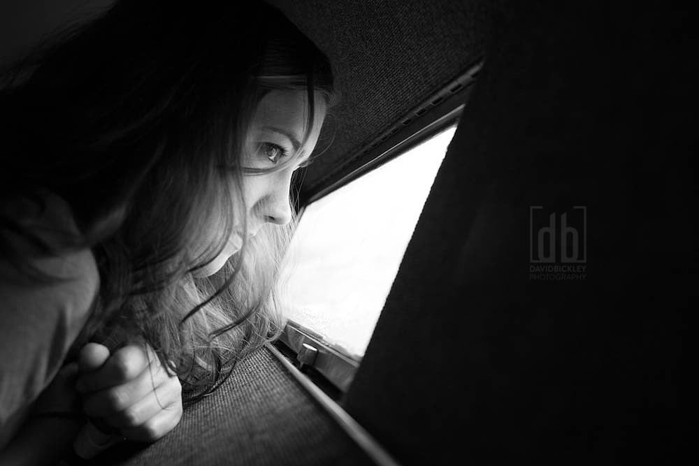 Some Girl Looking Out a Window - by David Bickley Photography