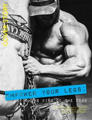 World Physique Magazine summer deadlift article - Photography by David Bickley Photography