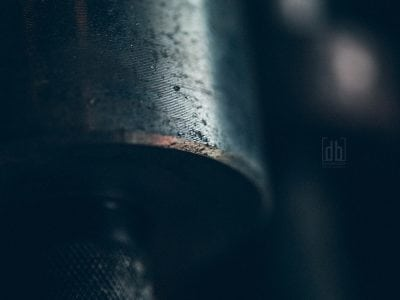 Barbell Macro by David Bickley Photography