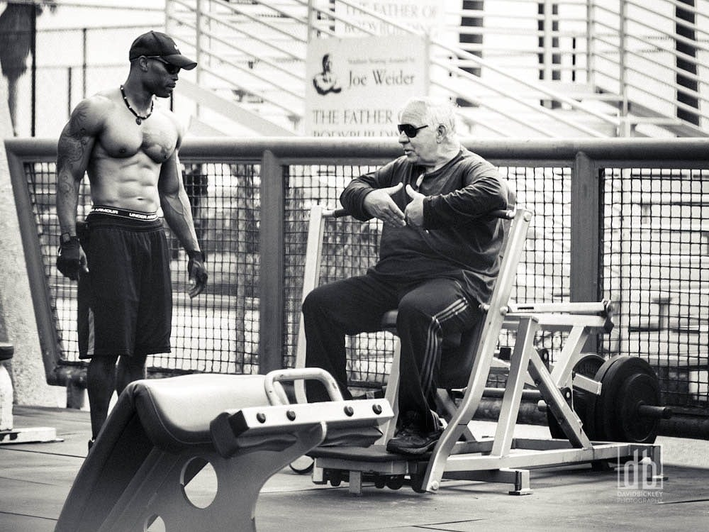Muscle Beach Video Shoot by David Bickley Photography