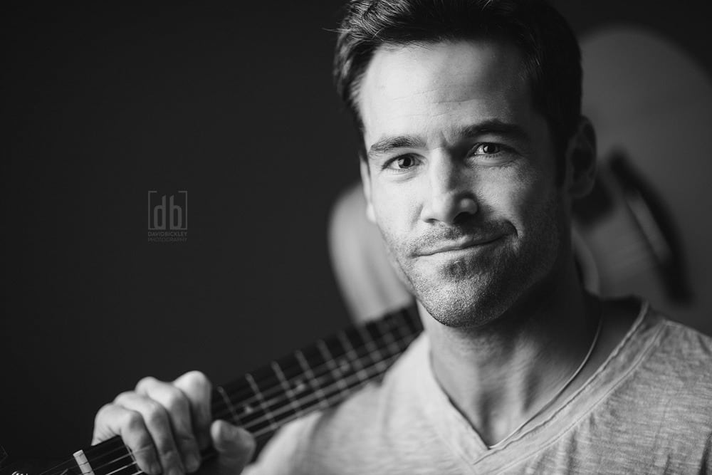 Musician Portrait by David Bickley Photography