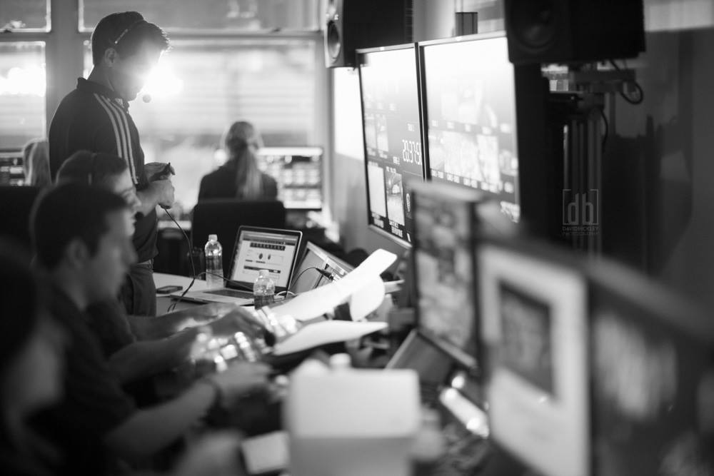 In the Broadcast Room - By David Bickley Photography