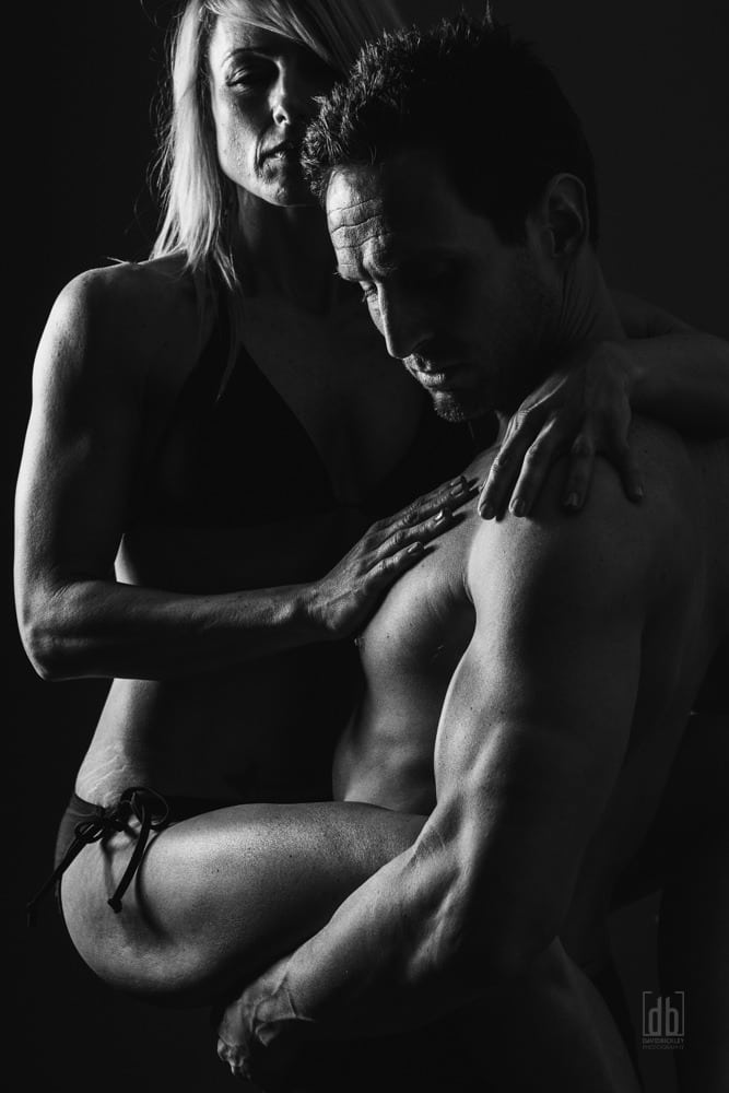 Couples Fitness Photography by David Bickley Photography