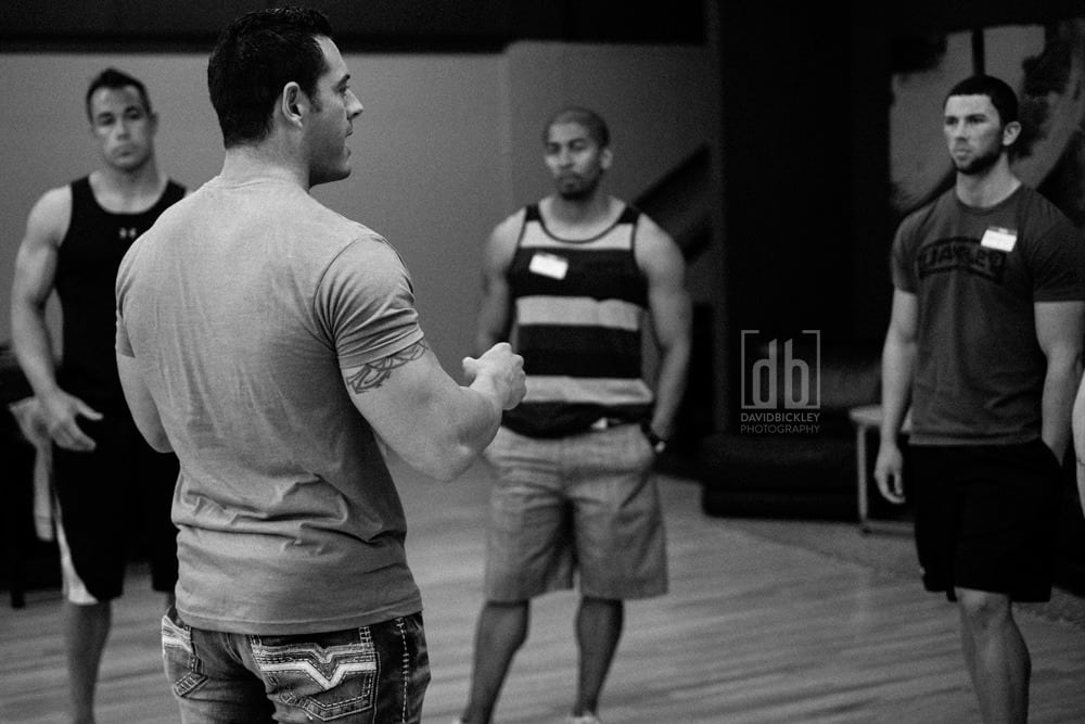 WBFF posing clinic by David Bickley Photography