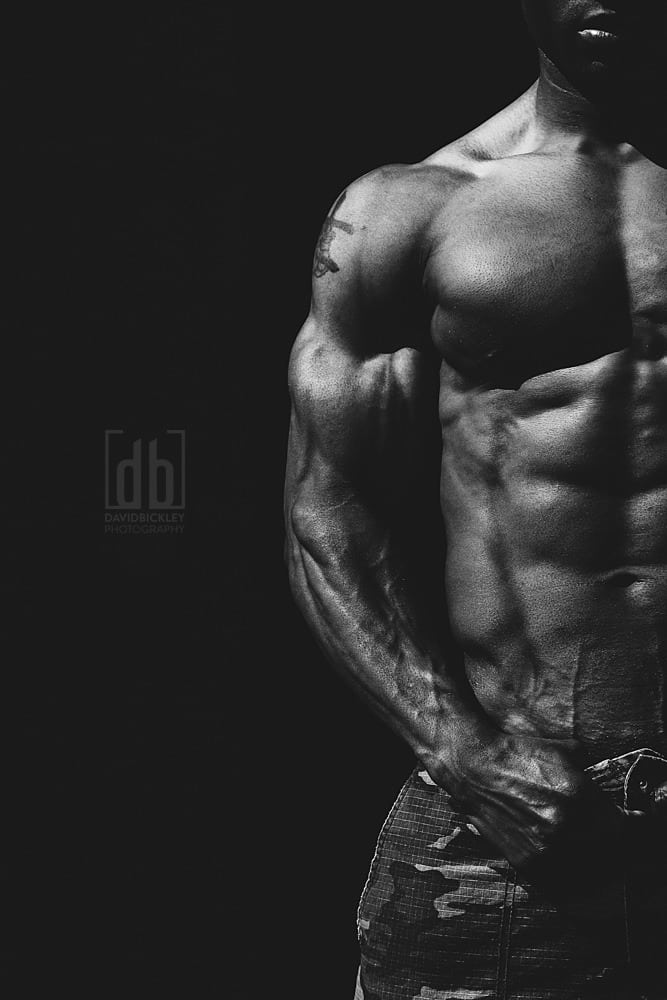 WBFF Pro Muscle Model Wayne Jackson by David Bickley Photography