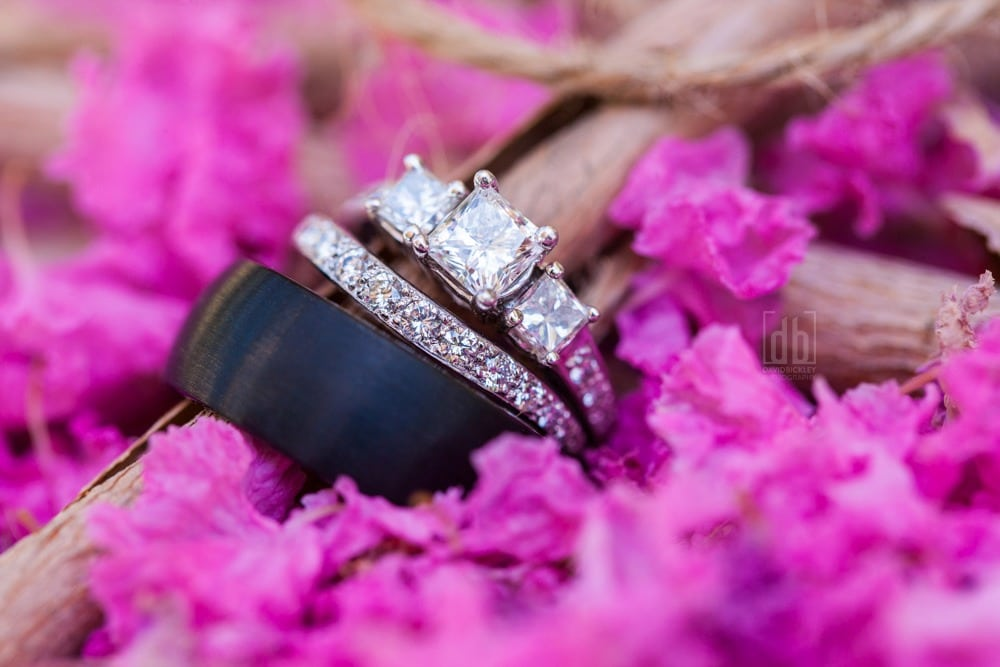 Wedding Bands by David Bickley Photography