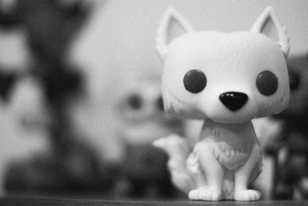Funko POP Ghost, by David Bickley Photography