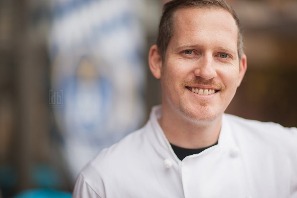 Chef Mattias by David Bickley Photography