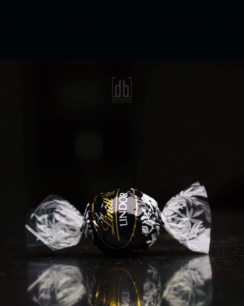 Lindt Lindor Dark Chocolate Truffle by David Bickley Photography